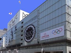 松屋銀座もオリンピック