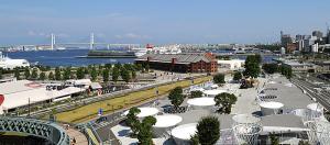 Y150開催中の横浜港