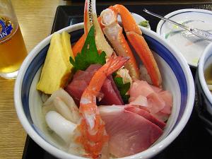 海ほたるの海鮮丼