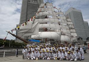 総帆展帆に携わった人達