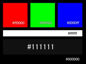 111111の色