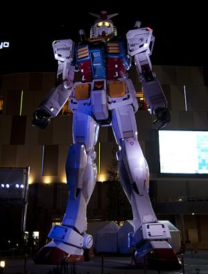 実物大RG1/1 RX-78-2ガンダムVer.GFT(GUNDAM FRONT TOKYO)