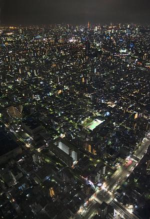 東京スカイツリー天望デッキ 夜景