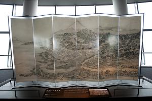 東京スカイツリー江戸一目図屏風