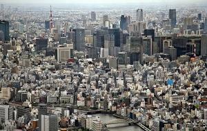 東京スカイツリー天望回廊より