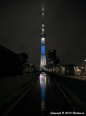 東京スカイツリー ライトアップ