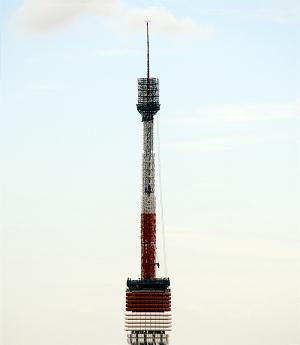 東京タワー工事中