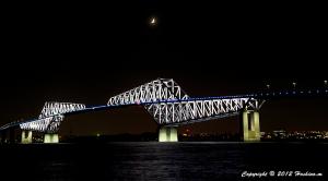 東京ゲートブリッジ6月のライトアップ