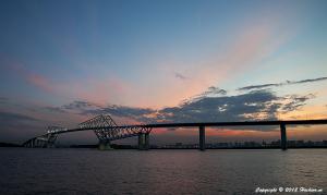 東京ゲートブリッジ7月のライトアップ