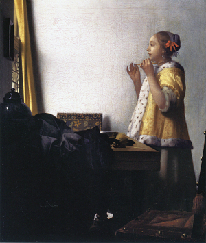 真珠の首飾りの少女