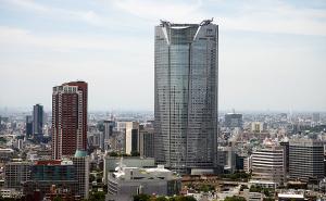 東京タワーからの風景