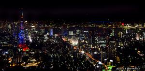 東京タワー ロンドンオリンピック日本代表選手応援 オリンピックカラーダイヤモンドヴェール