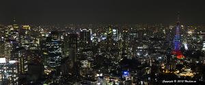 東京タワーオリンピックカラー