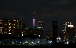 東京タワーオリンピックバージョン