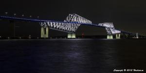 東京ゲートブリッジ9月のライトアップ