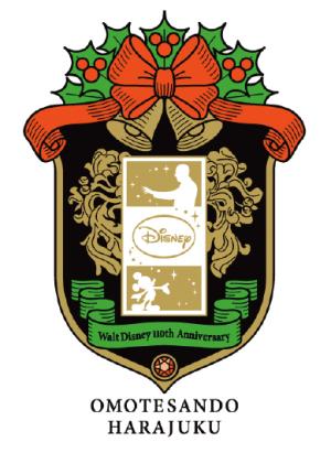 Walt Disney 110th Anniversary 表参道原宿 DREAM TOGETHER プロジェクト 2012