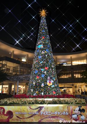 ららぽーと横浜のディズニークリスマス