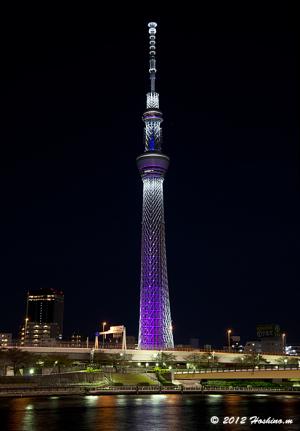 東京スカイツリー・冬雅・ライティング