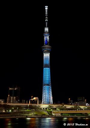 東京スカイツリー・冬粋・ライティング