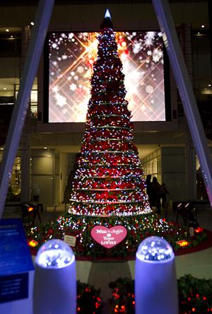 ラゾーナ川崎プラザのクリスマス