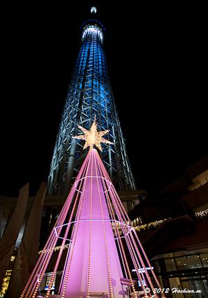 J:COM×TOKYO SKYTREE TOWN ざっくぅ Christmas Illuminasions