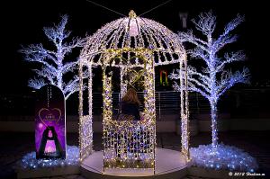 アクアシティ お台場 AQUA Christmas 2012 ~2人で灯すAQUA LOVE Bright~