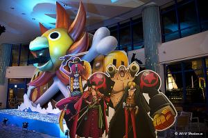 アクアシティ お台場 AQUA Christmas 2012 「ONE PIECE」海賊船サウザンド・サニー号