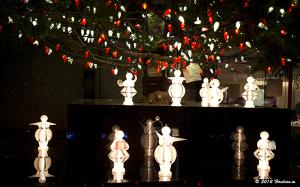 MIKIMOTO銀座本店のジャンボクリスマスツリー