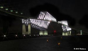 東京ゲートブリッジ 1月のライトアップ
