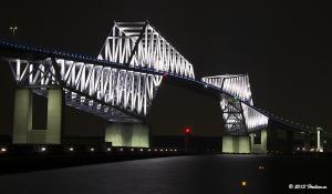東京ゲートブリッジ2月のライトアップ