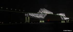 東京ゲートブリッジ3月のライトアップ