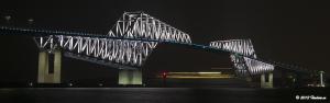 Tokyo Gate Bridge 5月のライトアップ