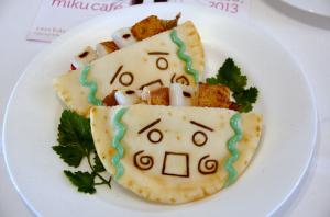 ミクカフェ miku cafe  ミクのピタサンド