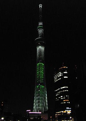 東京スカイツリー ホワイトツリー