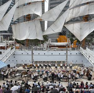 帆船日本丸 吹奏楽演奏会