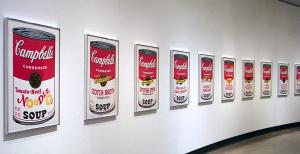 横浜美術館コレクション展 Andy Warhol Campbell'sSoup II