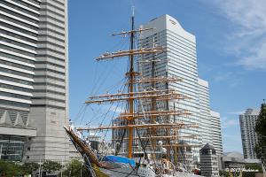 帆船日本丸 登檣礼