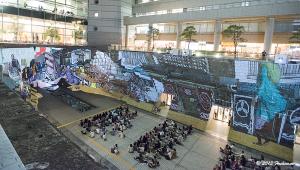 横浜・ドックヤード・プロジェクションマッピング