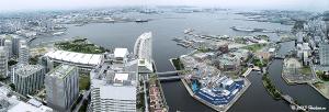 横浜港パノラマ