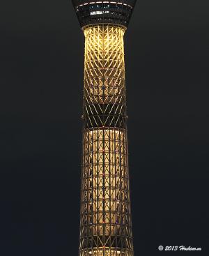 東京スカイツリー特別ライティング 2020年東京オリンピックへ!