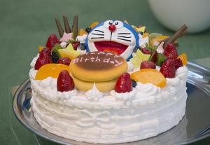 ドラえもん誕生日ケーキ