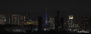 東京タワードラえもんライトアップ