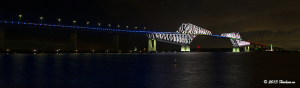 東京ゲートブリッジ オリンピック・パラリンピック東京開催祈念ライトアップ