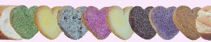 Samantha Thavasa Sweetsのカラフルハートラスク