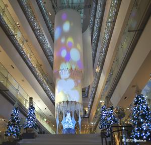 表参道ヒルズのクリスマスイルミネーション2013