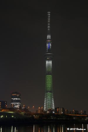 「ホワイトツリー」東京スカイツリー・クリスマススペシャルライティング