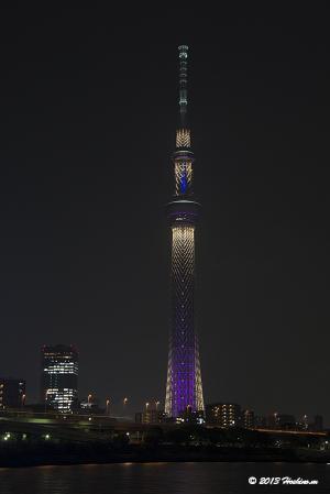 東京スカイツリー・ライティング「雅」