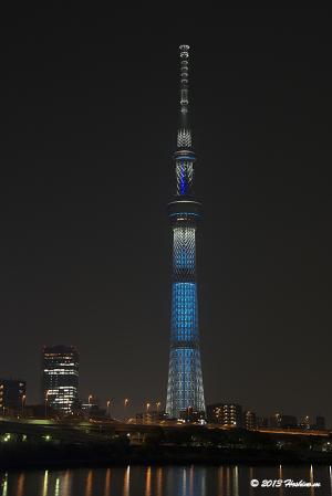 「冬粋」東京スカイツリー・クリスマススペシャルライティング