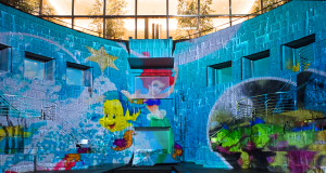 """ドックヤード・プロジェクションマッピング 「Happy Christmas featuring""""Disney The Little Mermaid""""」"""