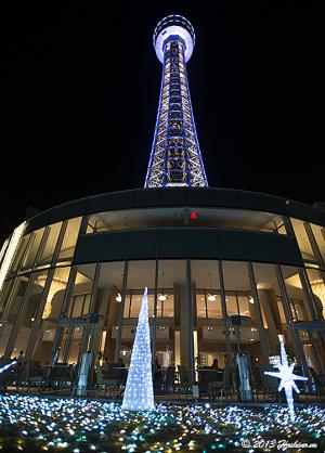 横浜マリンタワー ウィンターイルミネーション2013